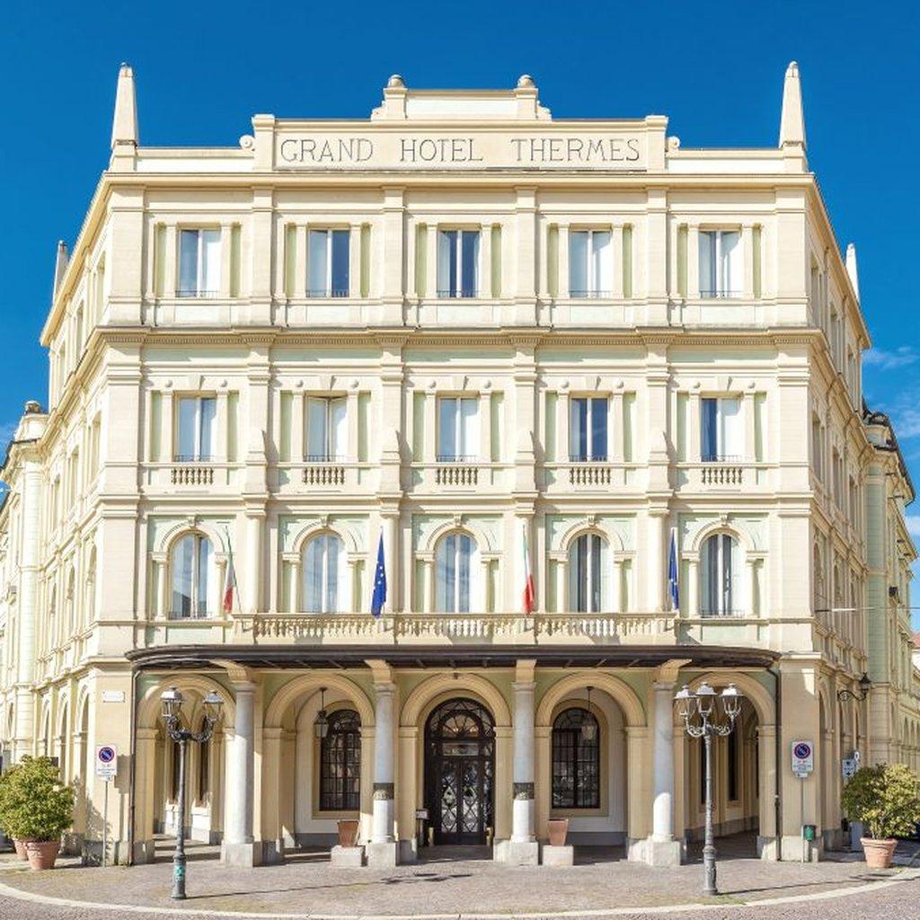 Grand Hotel Nuove Terme di Acqui Veduta Esterna